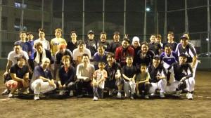 野球練習(第2回)全体写真